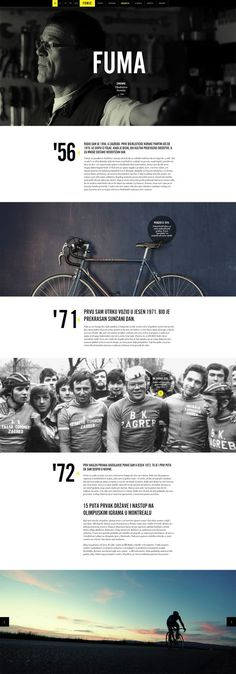 Case Study: Creating a Website for a Cycling Legend: