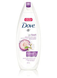 go fresh® revive® Body Wash with NutriumMoisture® Glossy Makeup, Eye Makeup, Beauty Bar, Hair Beauty, Dove Go Fresh, Dove Body Wash, Makeover Tips, Perfume, Sakura