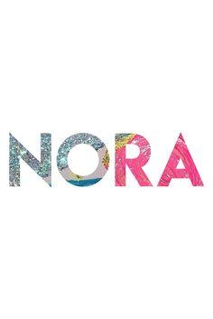 Nora: Super Cute Names for Girls I Nameille.com