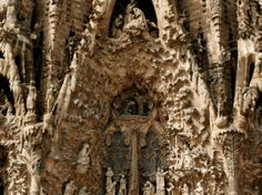 Barcelona's La Sagrada Familia cathedral is still under construction nearly a century after architect Antoni Gaudí's death in 1926. [Photograph by Ken Kochey]