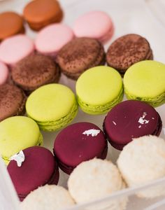 Macarons at Le Brist