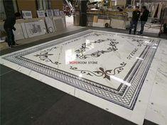 staturior white marble inlay