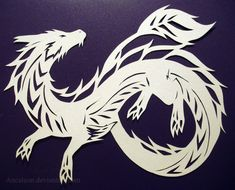 DeviantArt: More Artists Like Papercutting: Wolf by Ancaleon
