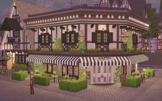 Via Sims: Cafeteria Windenburg - The Sims 4