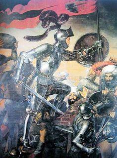 Pero las acciones que más lo distinguieron fueron las conquistas de Íllora, Montefrío, donde mandó el cuerpo de asalto y fue el primero que subió a la muralla a la vista del enemigo2 y Loja donde hizo prisionero al monarca nazarí Boabdil que se entregó tras pedir piedad para los vencidos y moradores. Acompañado de Gonzalo Fernández de Córdoba, a quien terminaría considerando su amigo, se presentó ante el rey Fernando y se arrojó a sus pies.4