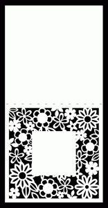 flower Background & also a flower Card by Bird