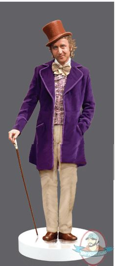 1/6 Sixth Scale Willy Wonka Action Figure by Molecule8 | Man of Action Figures