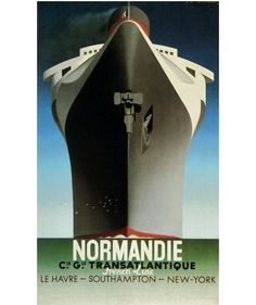 I long for a return to art deco-style travel posters ... when going anywhere was GLAM (not the slog it is today)