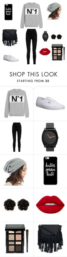 """""""Cute outfit"""" by stuff4m ❤ liked on Polyvore featuring Être Cécile, Vans, Balmain, Sole Society, Erica Lyons, Lime Crime and Bobbi Brown Cosmetics"""