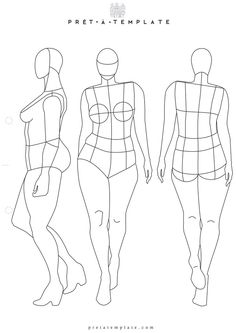 fashion figure templates plus size woman body figure fashion template d i y your own fashion sketchbook figure templates for fashion illustration front and back Illustration Tutorial, Fashion Illustration Template, Fashion Sketch Template, Fashion Figure Templates, Fashion Model Sketch, Fashion Design Template, Illustration Mode, Fashion Sketches, Fashion Illustrations