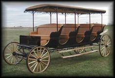 Justin Carriage Works - Four Seat Cut Under Commercial Surrey----Sweet!