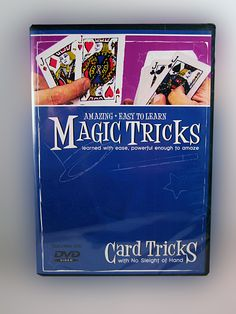Magic tricks with cards easy to learn