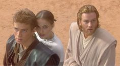 Anakin Skywalker, Padme Amidala and Obi-Wan Kenobi
