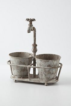 Waterspout Planter   #anthropologie