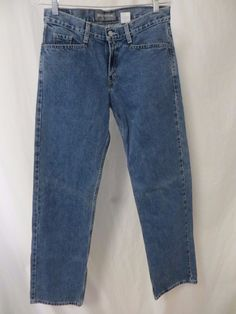 SUPER HOT! AUTHENTIC LEVI SILVERTAB Womens Jrs Jeans 7M W30 L31 ...
