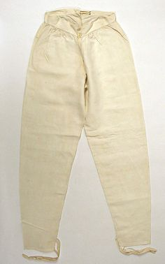 Underpants (Drawers)early 19th century