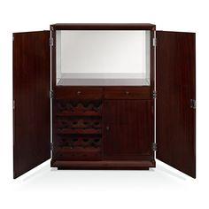 Cliff House Bar Cabinet - Bars - Furniture - Products - Ralph Lauren Home - RalphLaurenHome.com