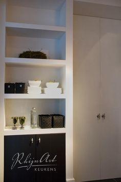 Built in storage cabinet floors 64 Ideas Kitchen Interior, Kitchen Niche, Metal Storage Cabinets, Bedroom Interior, Bathroom Styling, Interior Remodel, Built In Storage, Interior Design Living Room, Bathroom Design