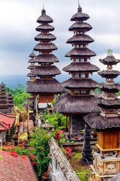 The  Mother Temple  of Pura Besakih , Bali . . .