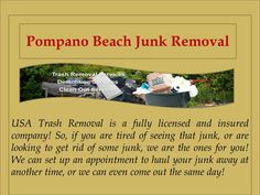 USA Trash Removal will be more than happy to come out and get rid of that junk for you! If you are in need of any Lite Demolition work, Junk Removal, Spa / Hot Tub Removal, or any other services contact us today!