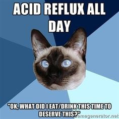 Acid Reflux all day, ok, what did I eat/drink this time to deserve this?