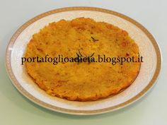 cucina dietetica per il portafoglio: Sformato di pan secco e zucca