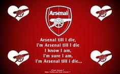 Arsenal Till I Die! #Arsenal #FanArt