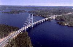 Tähtiniemi Bridge in Heinola, Finland Iceland Island, Good Neighbor, Homeland, Bridges, Norway, Sweden, Wander, To Go, Around The Worlds