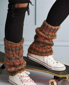 Crochet Leg Warmers, Knit Crochet, Knit Shoes, Thigh High Socks, Boot Cuffs, Knitting Socks, Clothing Patterns, Diy Clothes, Passion For Fashion
