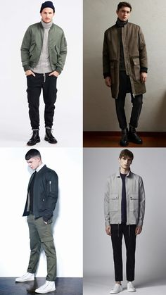 Men's Utilitarian Clothing Outfit Inspiration Lookbook