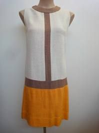 Mondrian inspired vintage dress