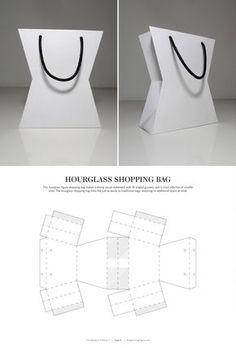 bdf419fdaa80f Bolsa Embalagem De Cosméticos, Ideias De Embalagem, Papel Criativo, Modelos  De Caixa,