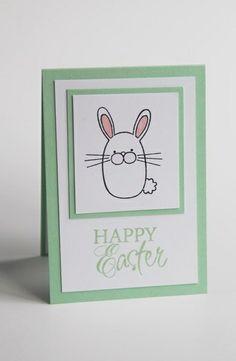 Easter card - Hippity Hoppity