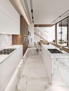 Modern Luxury Kitchen Design Ideas That Will Inspire You #kitchenideas #modernkitchendesignideas » aesthetecurator.com