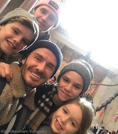 海外セレブニュース&ファッションスナップ: 【デヴィッド・ベッカム】子供たち4人との家族写真を投稿!しかしスキャンダルの火消しだと厳しい声