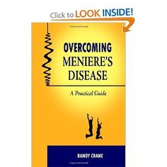 This book is amazing! Everyone who has Meniere's Disease should read this! Health And Beauty, Health And Wellness, Health Tips, Chronic Illness, Chronic Pain, Meneires Disease, Home Remedies For Vertigo, Inner Ear, Sinus Infection