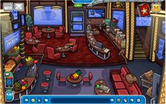 Hwp coffe shop by PaygeBrooke on DeviantArt Club Penguin, Penguins, Coffee Shop, Shopping, Souvenir, Christmas Parties, Coffee Shops, Coffeehouse, Penguin
