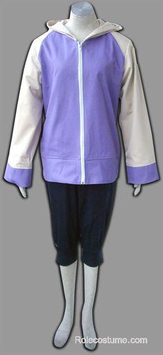 Naruto Shippuden Hinata Hyuuga Cosplay Costume