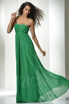 #TBDress - #TBDress Ruched A-line Long Sweetheart Bridesmaid Dress - AdoreWe.com
