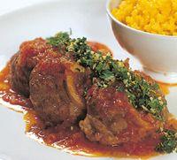 La vraie recette de l' ossobuco à la Milanaise. recette par adriano grego