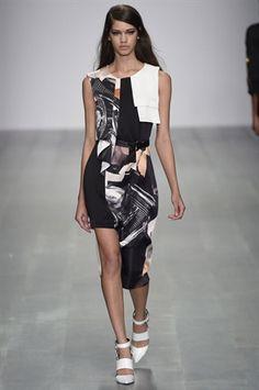 London Fashion Week Day 1 Jean-Pierre Braganza  Spring/Summer 2015 Ready to wear  12 September 2014