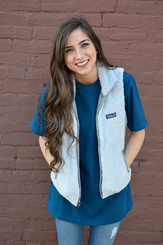 Patagonia Women's Los Gatos Vest- Pebble Grey from Shop Southern Roots TX