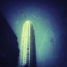 Sky High #atx #austin#austinskyline #grunge #abstraction #abstract #pdx #portlandia