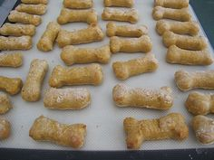 "Homemade Dog Treat Recipe ""Good Dog"" Cookies    ½ cup powdered milk"