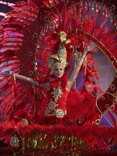 Reina del Carnaval 2009 de   las Palmas de Gran Canaria (Spain)