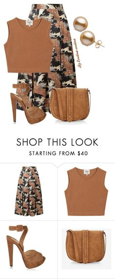 """""""EVE"""" by evelina-er ❤ liked on Polyvore featuring CO, Samuji, Christian Louboutin and Express"""