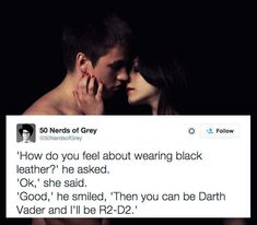 "This ""50 Shades"" Twitter Account Is The One Every Nerd Has Been Waiting For"
