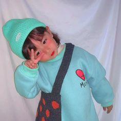 Baby Baby Baby Oh, Cute Little Baby, Little Babies, Baby Kids, Cute Asian Babies, Korean Babies, Asian Kids, Cute Baby Meme, Cute Baby Videos