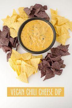 Vegan Chili Cheese Dip - Delicious Knowledge