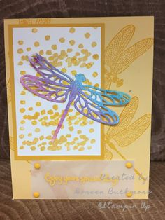 Dragonfly Dreams Stampin Up Occasions '17